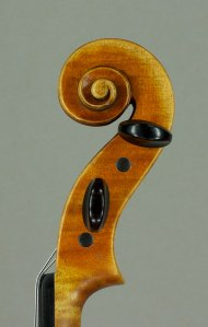 Stradivari scroll